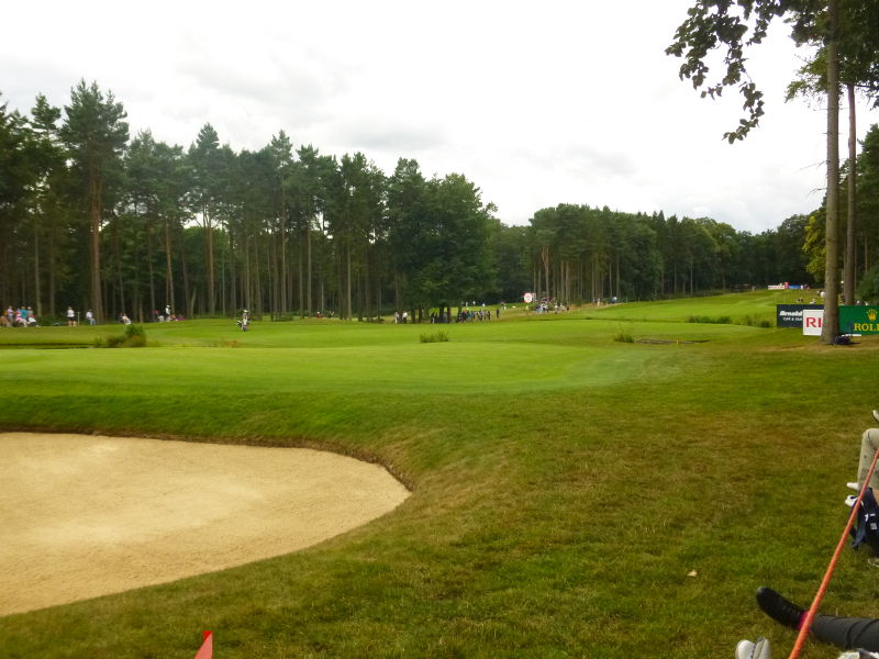 Woburn Looking Back down the 12th Fairway